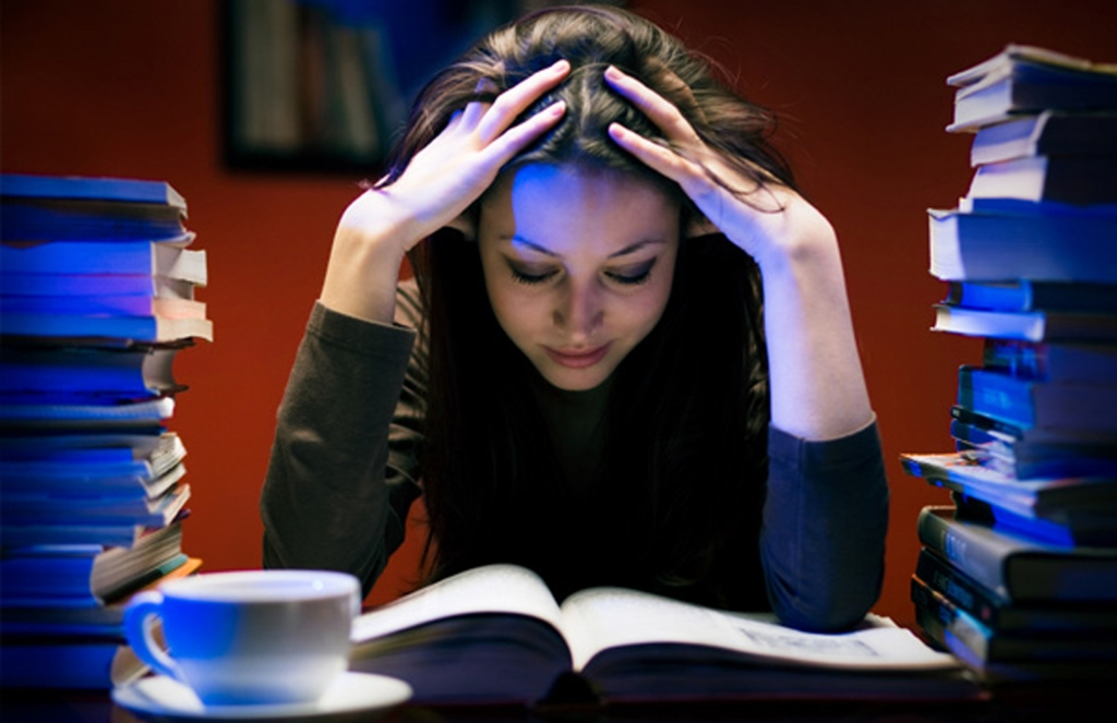 student struggling